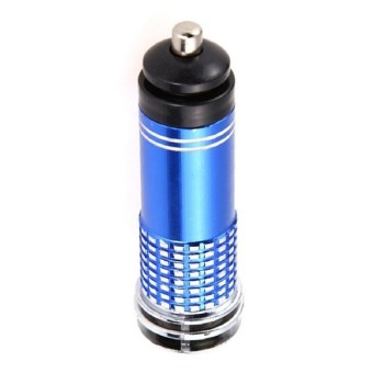 Harga 2016 12V Mini Auto Car Fresh Air Ionic Purifier Oxygen Bar Ozone Ionizer Cleaner Power Filter Blue
