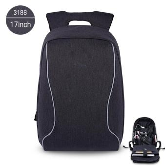 Harga Tigernu 17 Inches Fashion Business Casual Laptop Backpack For12-15.6inches Laptop(black grey)