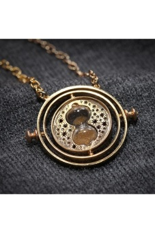 Harga Harry Potter Time Turner Necklace Hermione Granger - intl