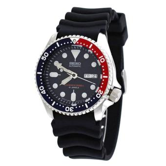 Harga Seiko Watch Automatic Diver's Black Stainless-Steel Case Rubber Strap Mens JAPAN NWT + Warranty SKX009J1