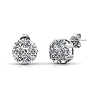 Harga Brilliance Earrings - Crystals from Swarovski®
