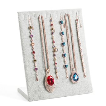 Harga Necklace Chain Stand Jewellery Holder Shop Display Set Tall - intl