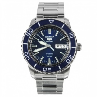 Harga Seiko 5 Series Automatic Blue Dial Diver Watch SNZH53J1 (EXPORT)