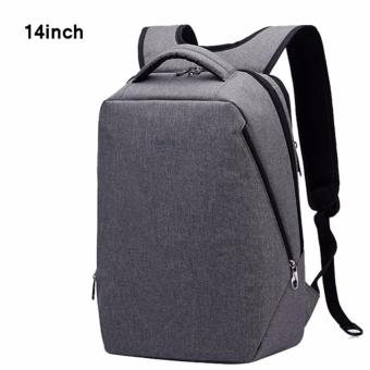 Harga Tigernu 14 Inches Fashion School Teenager Bag Multifunctional Large Capacity Causal Laptop Backpack T-B3164(Grey)