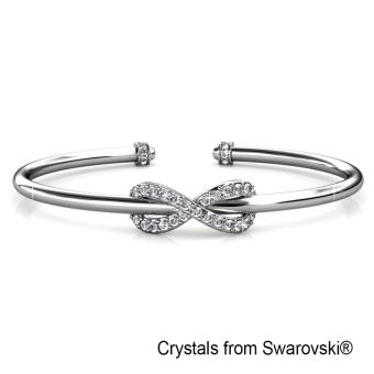 Harga Ribbon Bangle - Crystals from Swarovski®