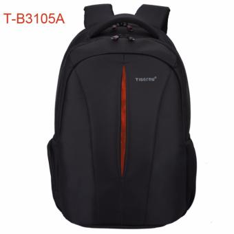 "Harga Tigernu Brand Travel Business Men Women 12.1-15.6"" Laptop Backpack T-B3105(black with orange) (EXPORT)"