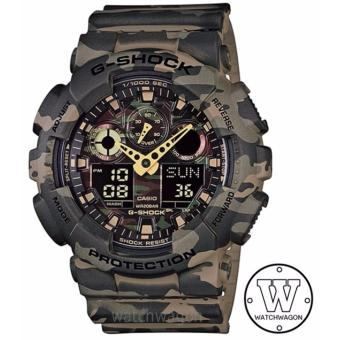 Harga Casio G-Shock GA-100CM-5A Brown