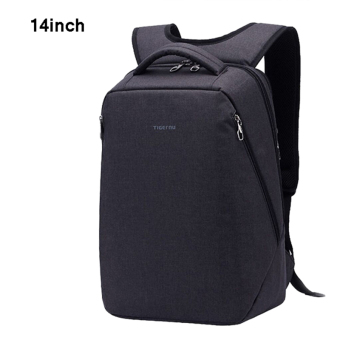 Harga 2016Tigernu Brand School Teenager Bag Multifunctional Fashion Women Men14 Inch Laptop Backpack T-B3164(Black) (EXPORT)
