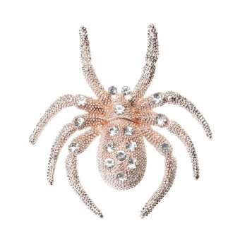 Harga Spider Brooch Diamante Corsage Alloy Brooch Exquisite Corsage - intl