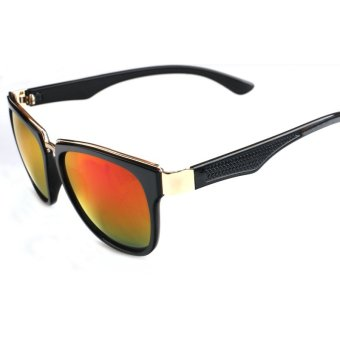 Harga Men's Eyewear Sunglasses Men Wayfare Sun Glasses Orange PiColor Brand Design (Intl)
