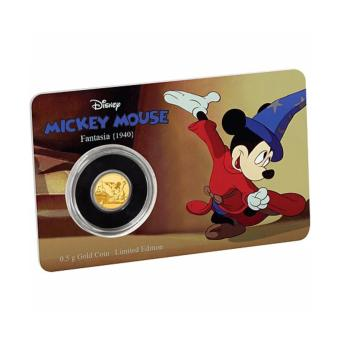 Harga Mickey Through The Ages - Fantasia 0.5 Gram Gold Coin