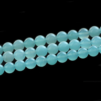 Harga Natural blue chalcedony semi-finished