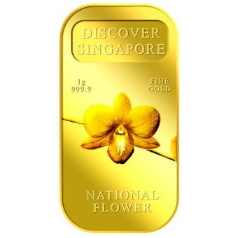 Harga Puregold 1g SG National Flower Gold Bar