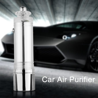Harga Car Air Purifier Ionizer Ionic Pure-O Cleaner Ozone Oxygen Auto Fresh 12V