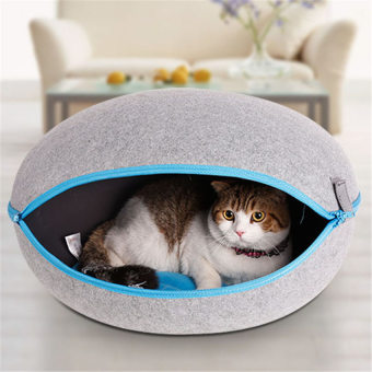 Harga Removable Cat Nest Bed(Grey)