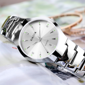 Harga Fashion luminous ultra-thin lovers watch