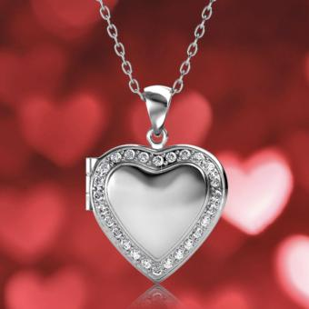 Harga Love Locket Pendant (Crystals from Swarovski®)