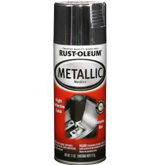 Rust-Oleum Auto Metallic Spray 11oz (Chrome)