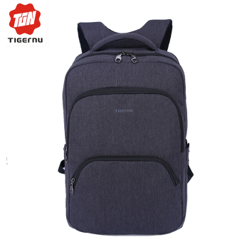 "Harga Tigernu 17 inches Business& Causal Waterproof Laptop Backpack Fit for 12.1-17"" Laptop T-B3189(Black grey)"