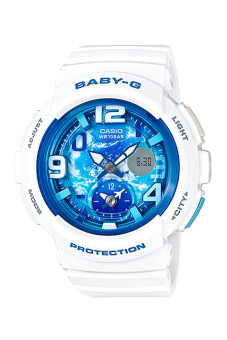 Harga Casio Baby-G Women's World Time BGA-190GL-7B White