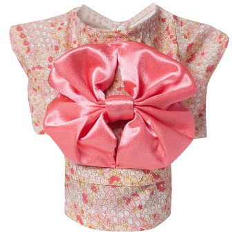 Harga Cute Japanese Kimono Style Apparel Costume Pet Clothes for Dog Puppy Cat Skirt Dress Clothing Pink Size M