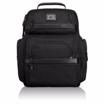 "Harga NEW Tumi ALPHA 2 T-Pass 26578D2 BLACK Nylon Business Backpack 15"" Laptop - intl"