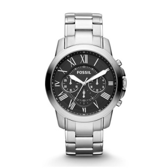 Harga Fossil GRANT CHRONOGRAPH STAINLESS STEEL WATCH FS4736