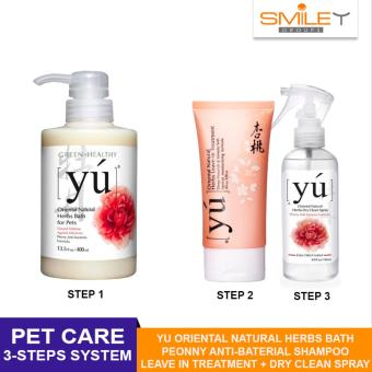 Harga YU Oriental Natural Herbs Care For Pet- 3 steps system ( 3pcs in a set)