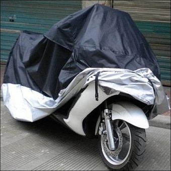 Harga XXL Universal Motorcycle Covers Waterproof Rain Dust Protector Covers - intl