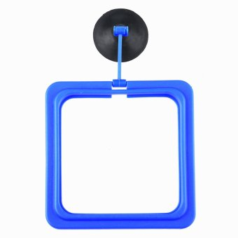 Harga Leegoal Aquarium Floating Fish Feeding Ring With Suction Cup -Square