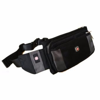 New Brand SWISSGEAR Waterproof Oxford cloth For IPHONE Shoulder Bags Portable Men and Women Laptop Messenger Waist Bag SWESP20 - intl