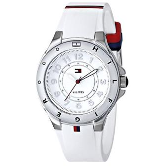 Harga Tommy Hilfiger Women's 1781271 Stainless Steel Watch with White Silicone Band - intl