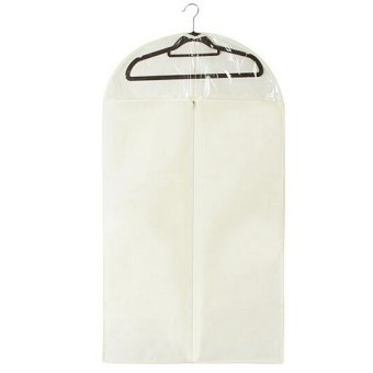 Harga Fancytoy Garment bag/Clothes dust cover/suit cover/Suit storage bag dust proof cover S (Beige)