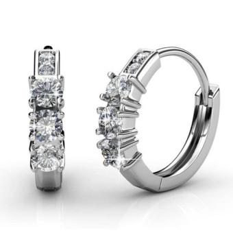 Harga Crystal Journey Ring Earrings - Crystals from Swarovski®