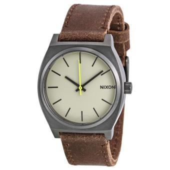 Harga Nixon Time Teller Gunmetal/Brown