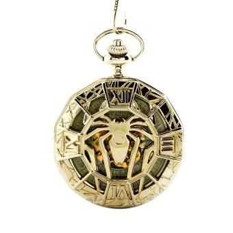 Harga hvbtion Man Retro Spider Mechanical Pocket Watch (Yellow)