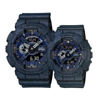 Harga Casio G-Shock and Baby_G Couple Watch GA-110DC-1A & BA-110DC-2A1