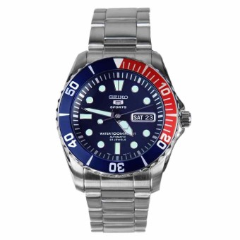 Harga Seiko Automatic Divers 23 Jewels 100m Watch SNZF15K1