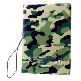 Harga Passport Holder ID Cards Holder Camouflage