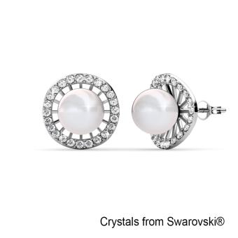 Harga Chloe Pearl Earrings - Crystals from Swarovski®
