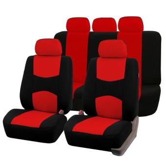 Harga Beau Front Rear Universal Car Seat Covers Auto Car Seat Covers Vehicles Accessories - intl