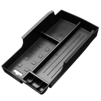 ABS Auto Cover Front Seat Central Armrest Storage Box Container Sticker Tirm For Toyota/Camry 2012 2013 2014 2015 - intl