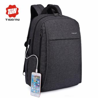 Harga Tigernu 2017 Anti-thief With USB Charging Port Laptop Backpack Fit for 12-15.6inches Laptop3221 - intl
