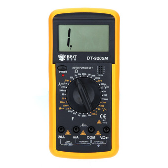 Harga Digital LCD BEST Multimeter Voltmeter Ammeter Volt AMP OHM Checker Tester AC DC