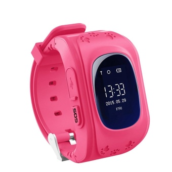 Kids Safety Smart Watch Anti-lost Call Watch for Children(Pink) - intl