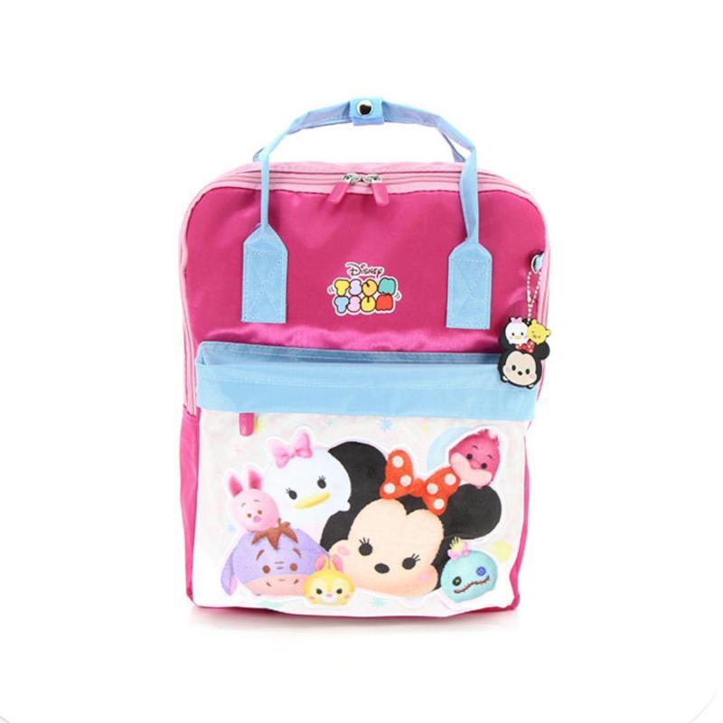 """Kidztime X Disney Tsum Tsum Fashion Backpack 14"""""""