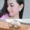 Korea clover double-sided matte ear ball earrings female pure sterling silver jewelry simple temperament Cool student earrings