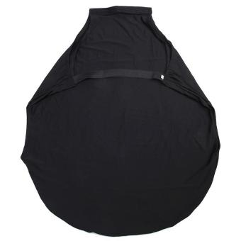 LALANG Solid Elasticity Luggage Protective Suitcase Covers S (Black) - 2