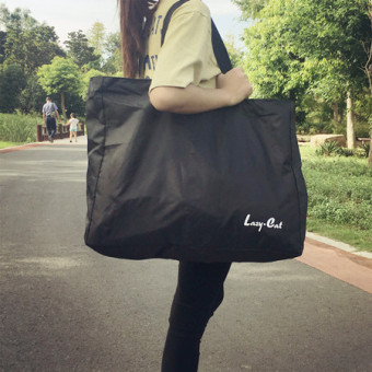 Harga Large No. Shopping Bags travel bags packing bags to move bags luggage checked bag folding bag to be produced package