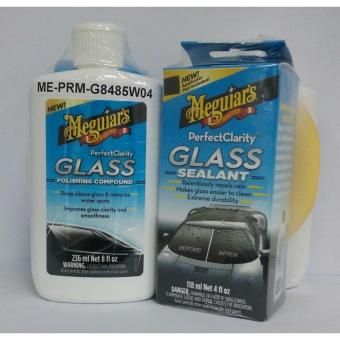 Harga Meguiar's Perfect Clarity Glass Care kit c/w App. Pad
